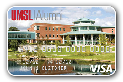 UMSL Alumni Rewards Visa Credit Card